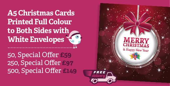 Printed Christmas Cards Northampton