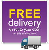 free delivery on printing