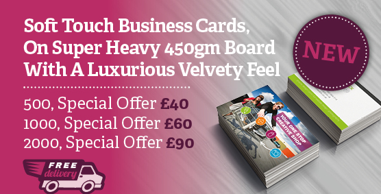 business cards Northampton special offer